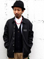 RAVENIK(レイヴニク)BACK POCKET COACH JACKET&SUMMER CARDIGANのコーデブログ