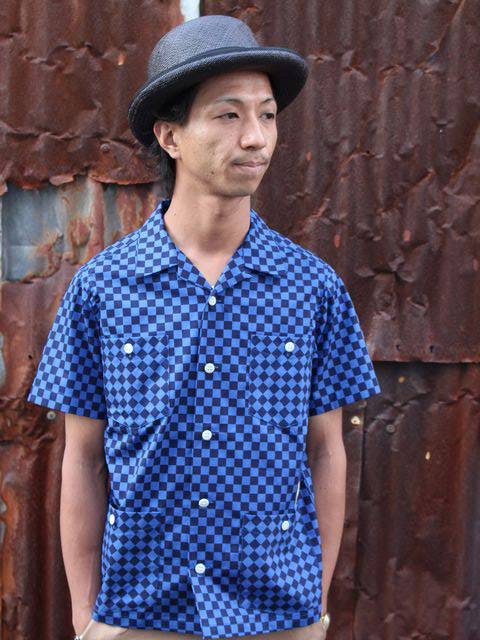 CHECKER FLAG HOLLYWOOD LEISURE S/S SHIRT を使ったBELAFONTEスタイル紹介