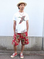 BELAFONTE 新作 MY RAGTIME HUNTING SHORTS を使ったサマースタイル紹介