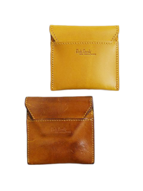 ROCK STEADY×PORTER LEATHER COIN CASE コインケース の紹介と経年変化