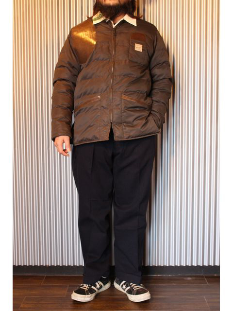 "BELAFONTE/ベラフォンテ 15AW 新作 ""RAGTIME BUBBLE SHOOTING JACKET"" & ""RAGTIME DENIM SPORTS JACKET"" コーディネート紹介!!"